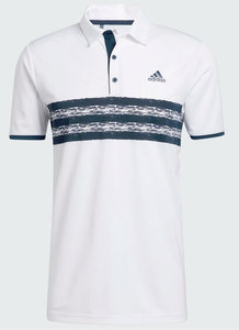 Adidas Core Polo LC Wit Navy