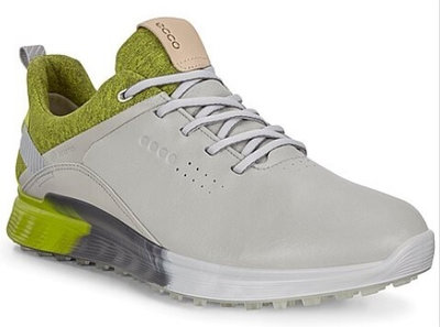 Ecco M Golf S-Three Grijs Lime