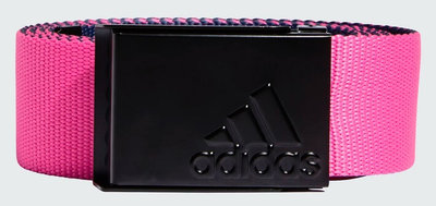 Adidas Reversible Webbing Belt Navy Pink