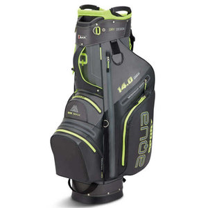 BigMax Aqua Sport 14.0 Series Cartbag Charcoal Black Lime