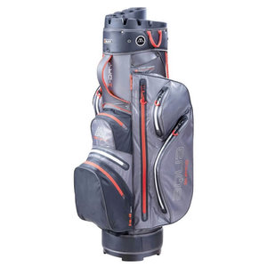 Big Max Aqua Silencio 3 Cartbag Charcoal Black Red
