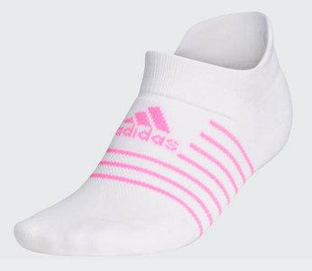 Adidas Dames Golfsokken Wit Pink
