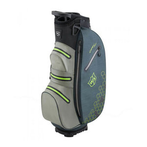 Wilson Staff Dry Tech 2 Waterproof Cartbag Charcoal Lime
