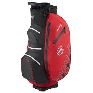 Wilson Staff Dry Tech 2 Waterproof Cartbag Red Black