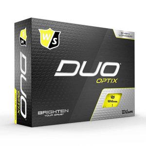 Wilson Staff Duo Optix Yellow