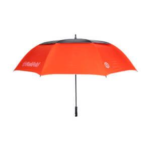 Fastfold Paraplu High End UV Rood Zwart