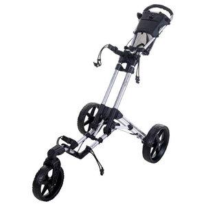 Fastfold 360 Flex  Golftrolley Shiny Silver Black