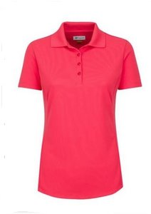 Greg Norman Pro Tek Pique Dames Polo Fuchsia