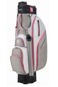 Bennington QO9 WR Cartbag Grey White Pink