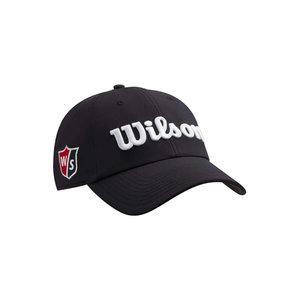 Wilson Pro Tour Cap Black White
