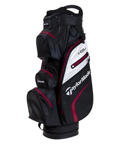 Taylormade Deluxe Cartbag Waterproof Black Red