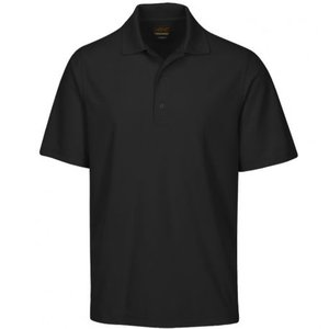 Greg Norman Performance Micro Pique Golf Polo Zwart