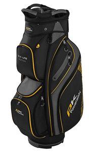 Powakaddy Cartbag DLX Lite Black Titanium Yellow