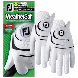 Footjoy Weathersof handschoen heren 2 Pack