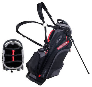 Skymax Standbag 9Inch Black Charcoal Red