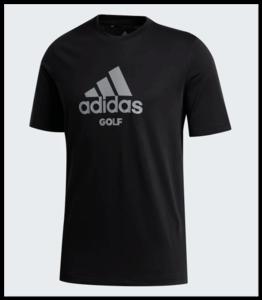 Adidas Golf Tee Black