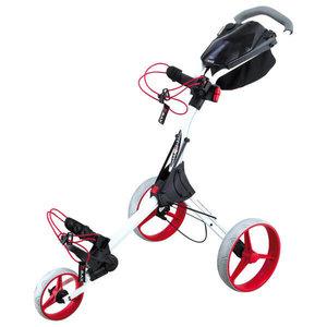 Big Max IQ+ Golftrolley White Red