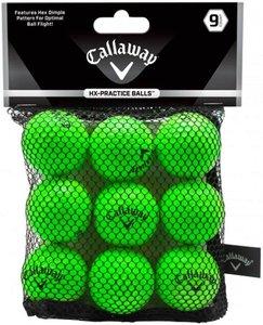 Callaway Soft Flight Green indoor golfballs