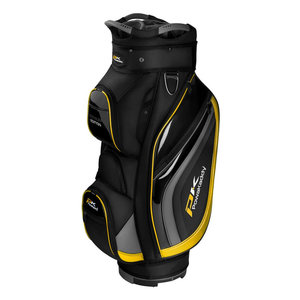 Powakaddy Premium Edition Cartbag Black Titanium Yellow