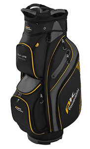 Powakaddy Cartbag DLX Lite Black Titanium Yellow