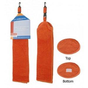 Golf Handdoek Extra Oranje