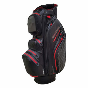 Fastfold Hurricane Waterproof Cartbag Black Red Charcoal