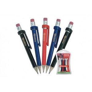 Masters potloden met gum en clip