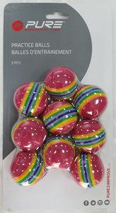Pure4Golf Practice Foam Balls 9 stuks
