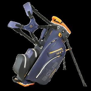 Big Max  Aqua Hybrid 2 Standbag Navy Orange