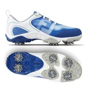 Footjoy Junior Hyperflex golfschoenen Wit Blauw