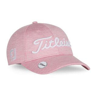 Titleist Tour Performance Ball Marker Ladies Cap Pink Out