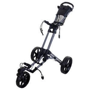 Fastfold 360 Flex  Golftrolley Glans Zwart
