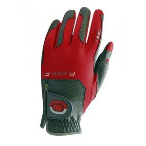 Zoom Flexx Fit Dames Golf Handschoen Charcoal Rood
