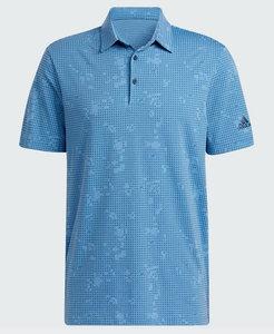 Adidas Night Camo Polo Blauw