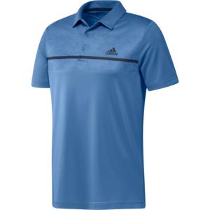 Adidas Primegreen Print Polo Shirt Kobalt
