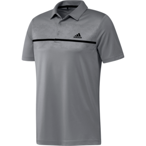 Adidas Primegreen Print Polo Shirt Grijs