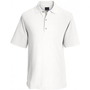 Greg Norman Performance Micro Pique Golf Polo Wit