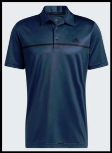 Adidas Primegreen Print Polo Shirt Blauw