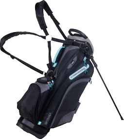 Skymax Standbag 9Inch Black Charcoal Turquoise