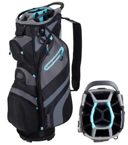 Skymax Lichtgewicht Cartbag Zwart Turquoise