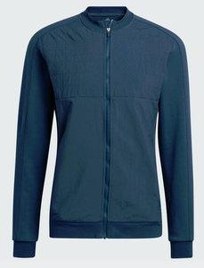 Adidas Go-To Quilt FZ Golfsweater CreNav