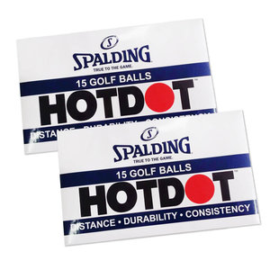 Spalding Hot Dot Golfballen 18 Stuks