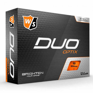 Wilson Staff Duo Optix Oranje