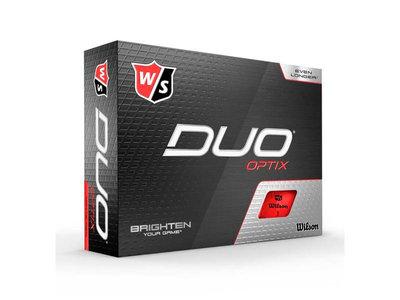 Wilson Staff Duo Optix Rood