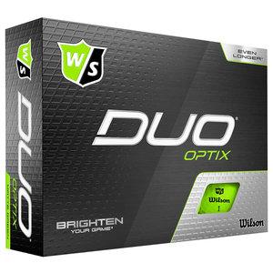 Wilson Staff Duo Optix Lime