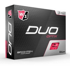 Wilson Staff Duo Optix Pink