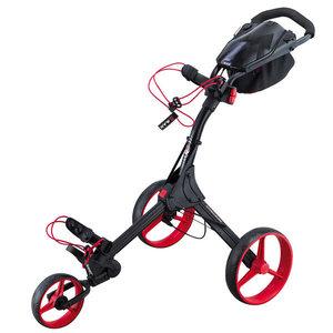 Big Max IQ+ Golftrolley Zwart Rood