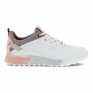 Ecco W Golf S-Three Dames White Silver Pink