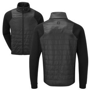 Footjoy Jersey Quilted Jacket Black