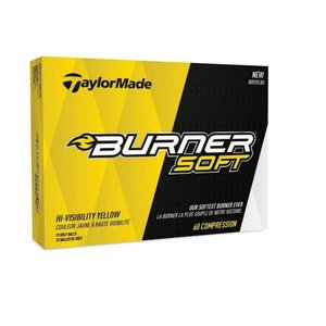 Taylormade Burner Soft Yellow Golfballen